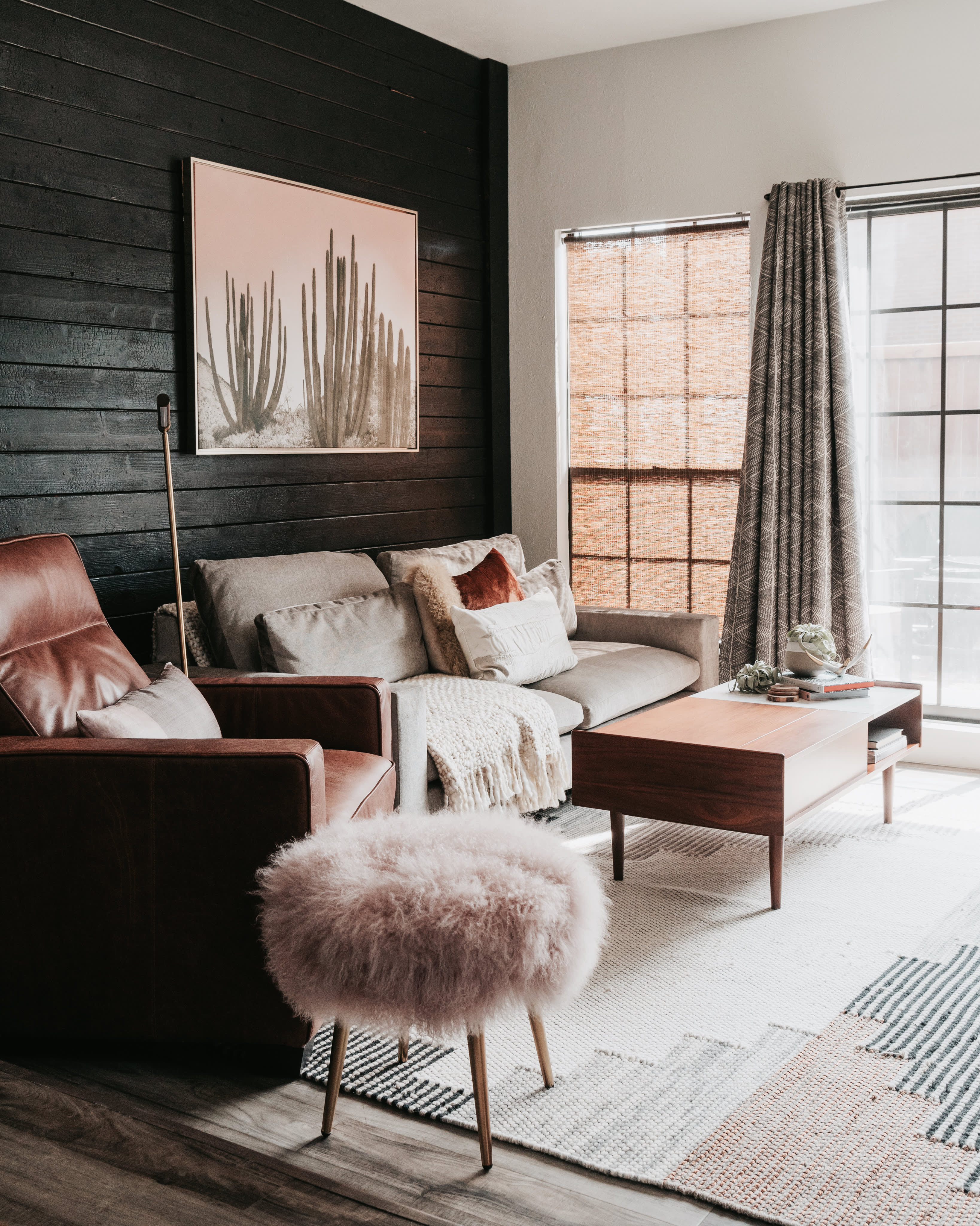 Super Scandinavian Minimal Bohemian Style Home Apartment Therapy Andrewgaddart Wooden Chair Designs For Living Room Andrewgaddartcom