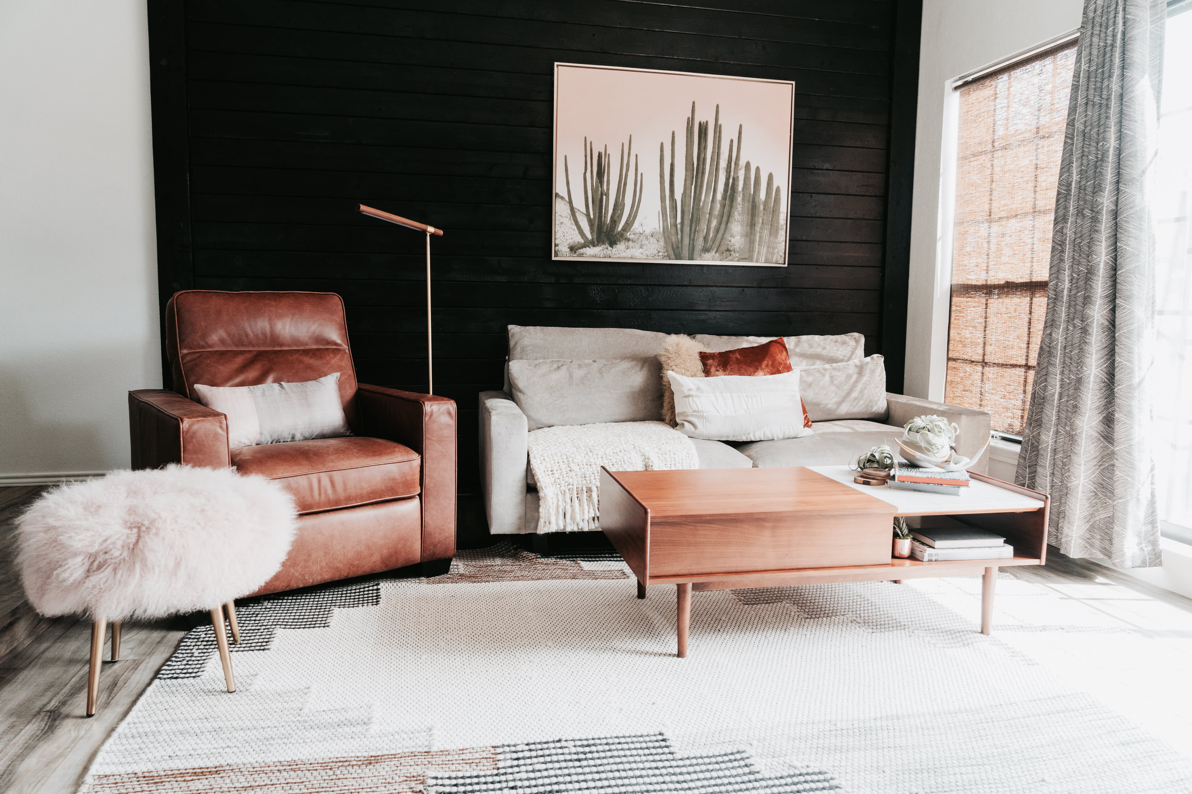 Scandinavian Minimal Bohemian Style Home Apartment Therapy