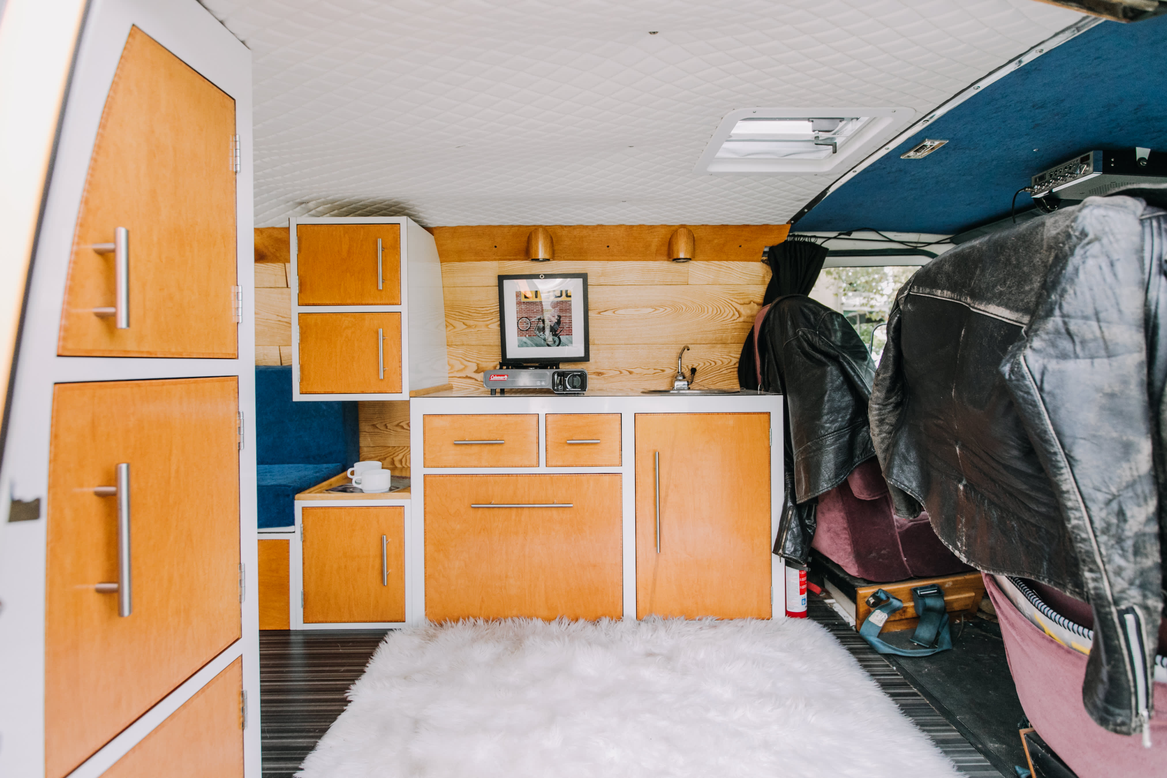 1970s Van Conversion Tiny Home Tour | Apartment Therapy