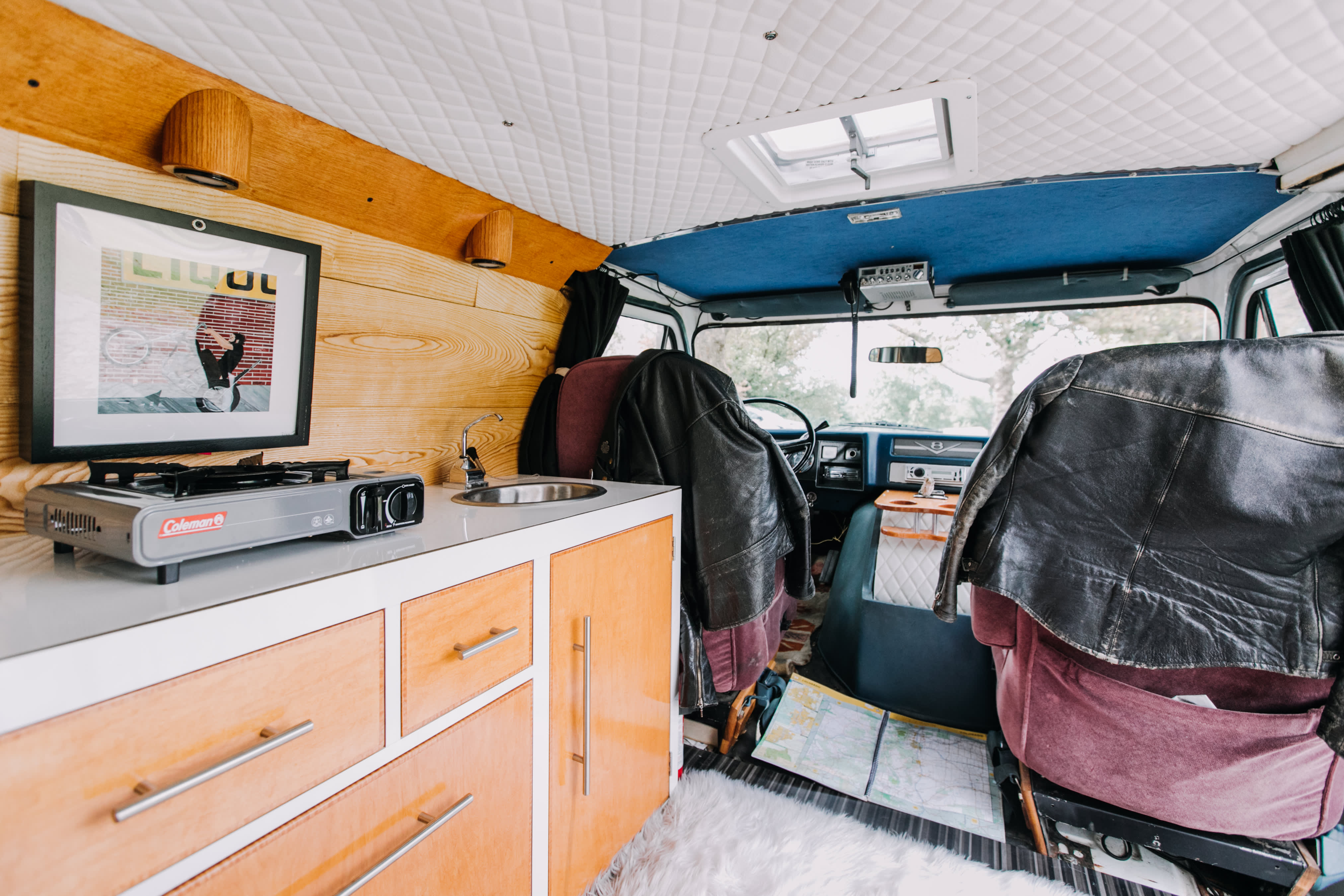 1970s Van Conversion Tiny Home Tour | Apartment Therapy