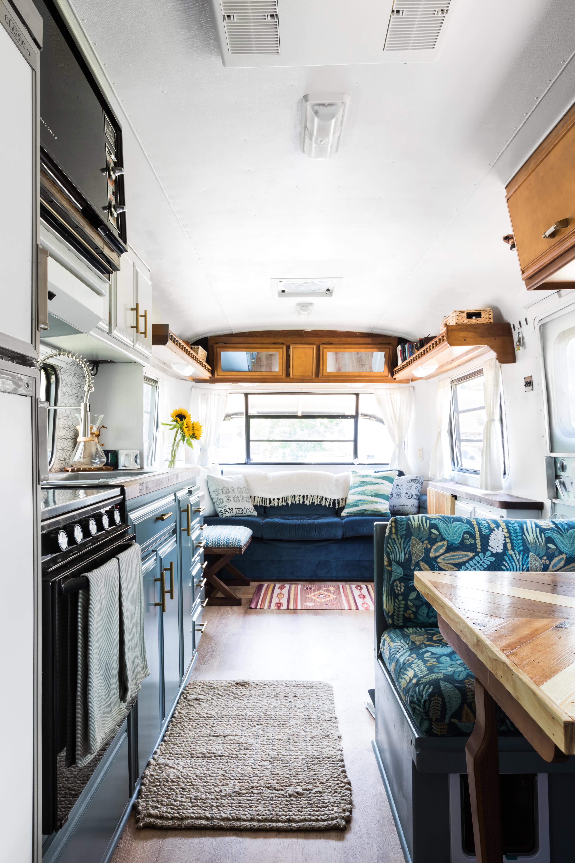 Tiny Home Inspiration RV Travel Trailer Tour | Apartment Therapy