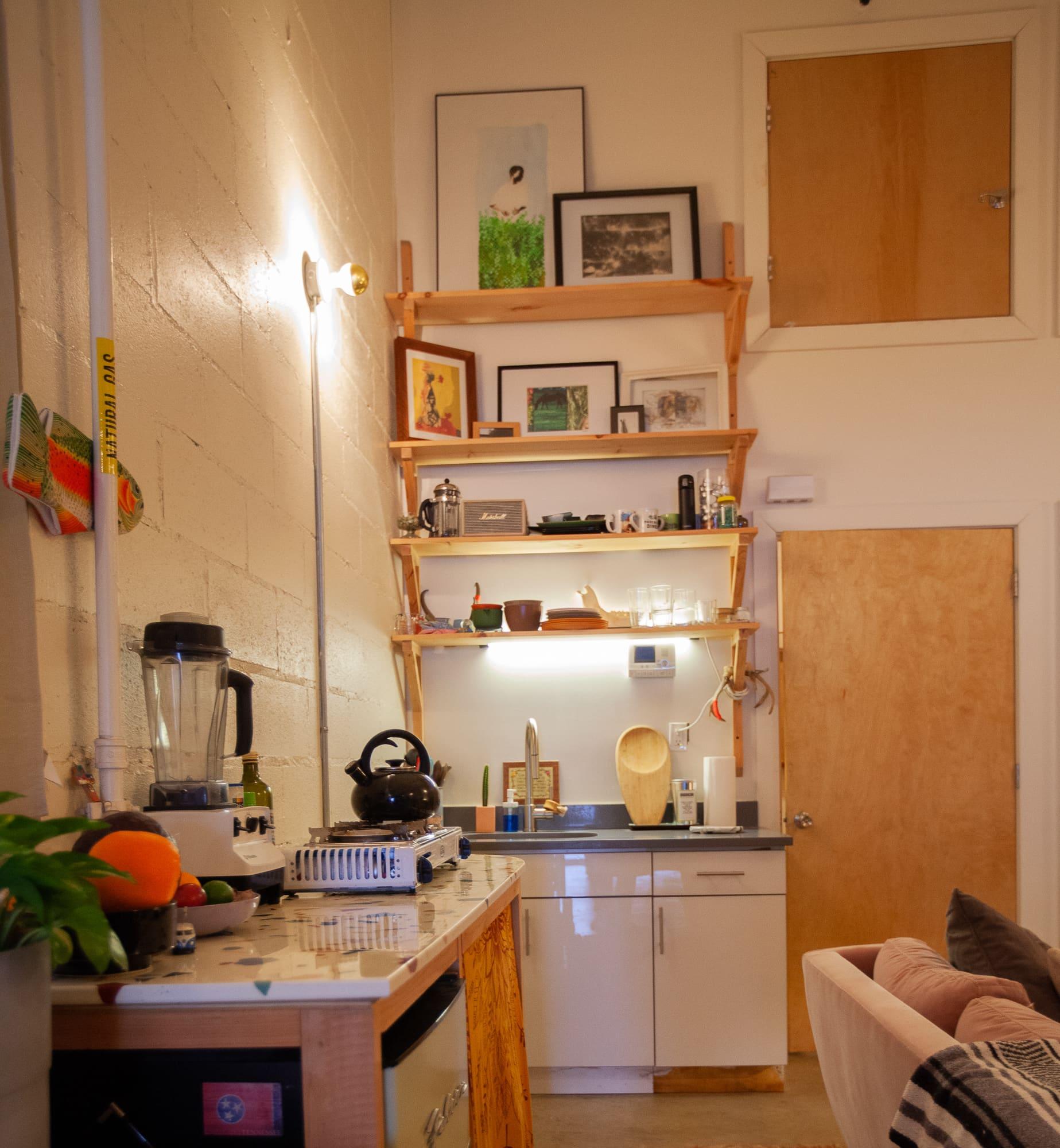 Brooklyn Studio Apartments: Van Living Handmade Studio Apartment Brooklyn Tour