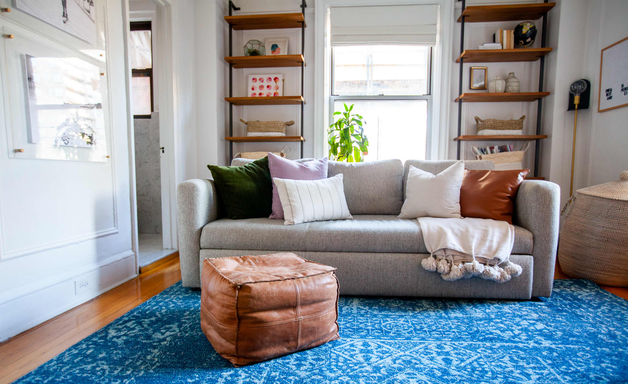 Small Space Storage And Decor Ideas In A NYC Home