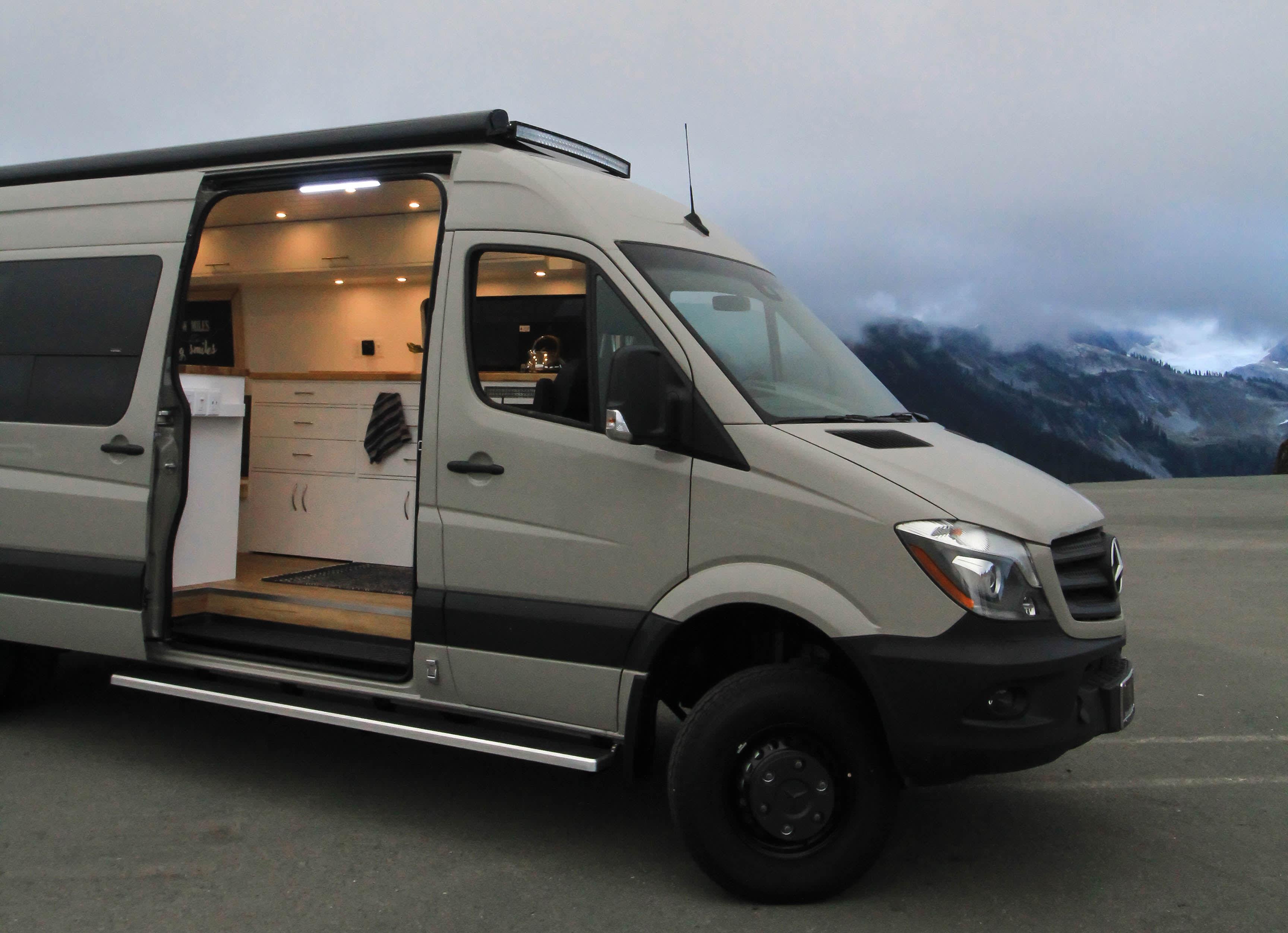 Camper Van Conversion - Big Gigantic by Freedom Vans