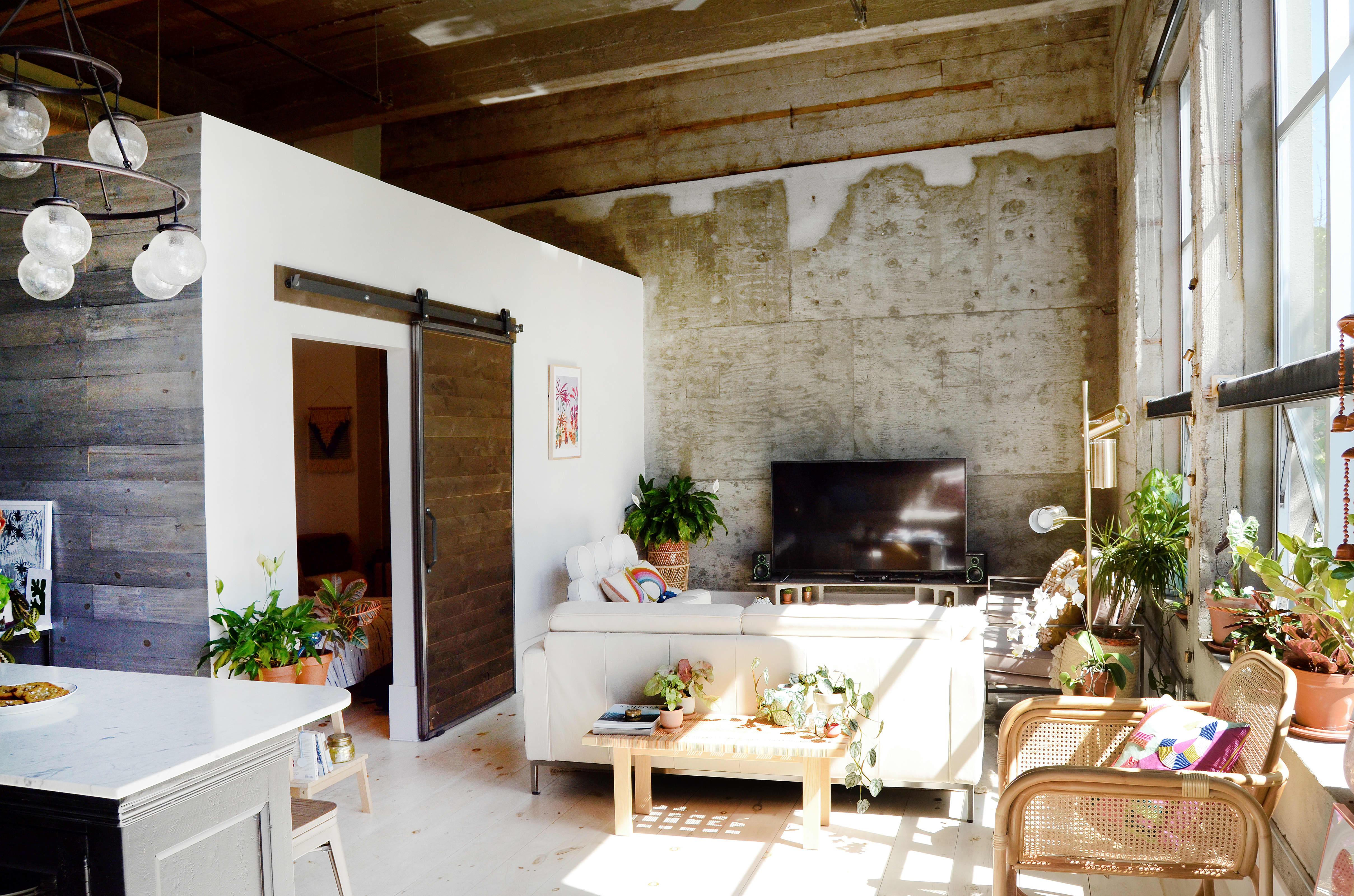 Modern Bohemian Rental Loft Condo Tour Photos | Apartment