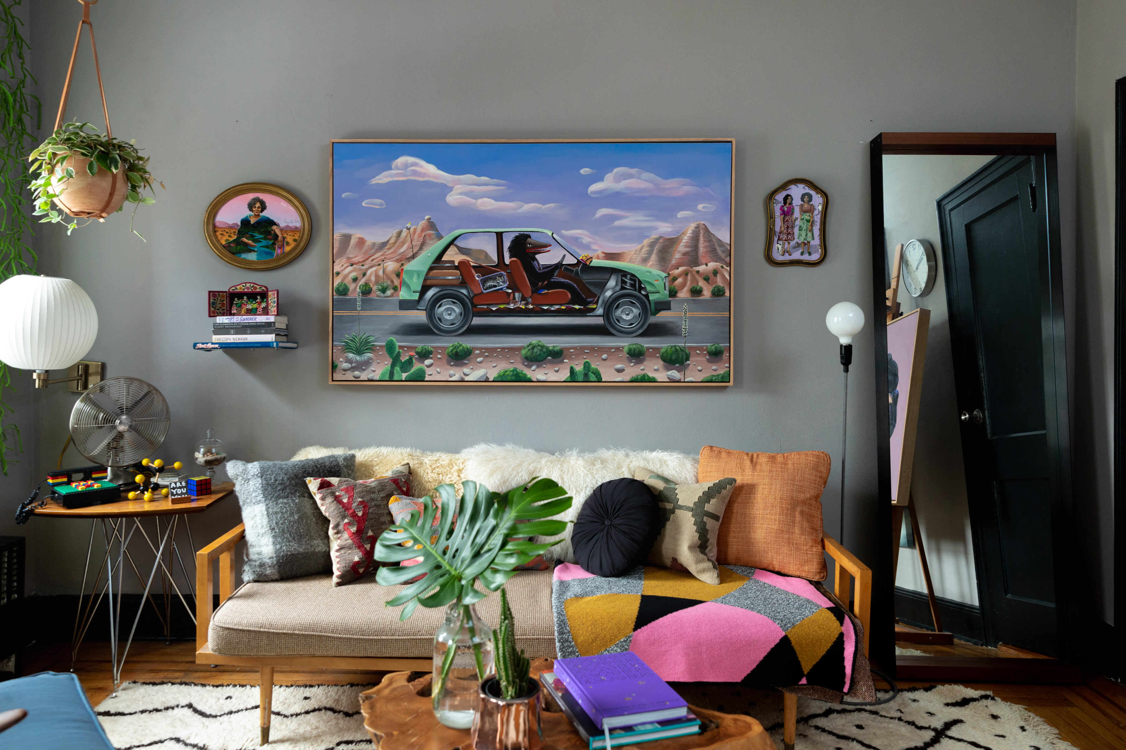 Artist Shyama Golden Brooklyn House Tour Photos   Apartment