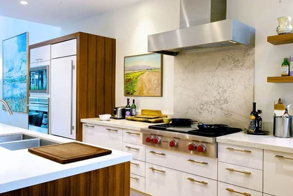 10 Kitchens Without Upper Cabinets | Kitchn