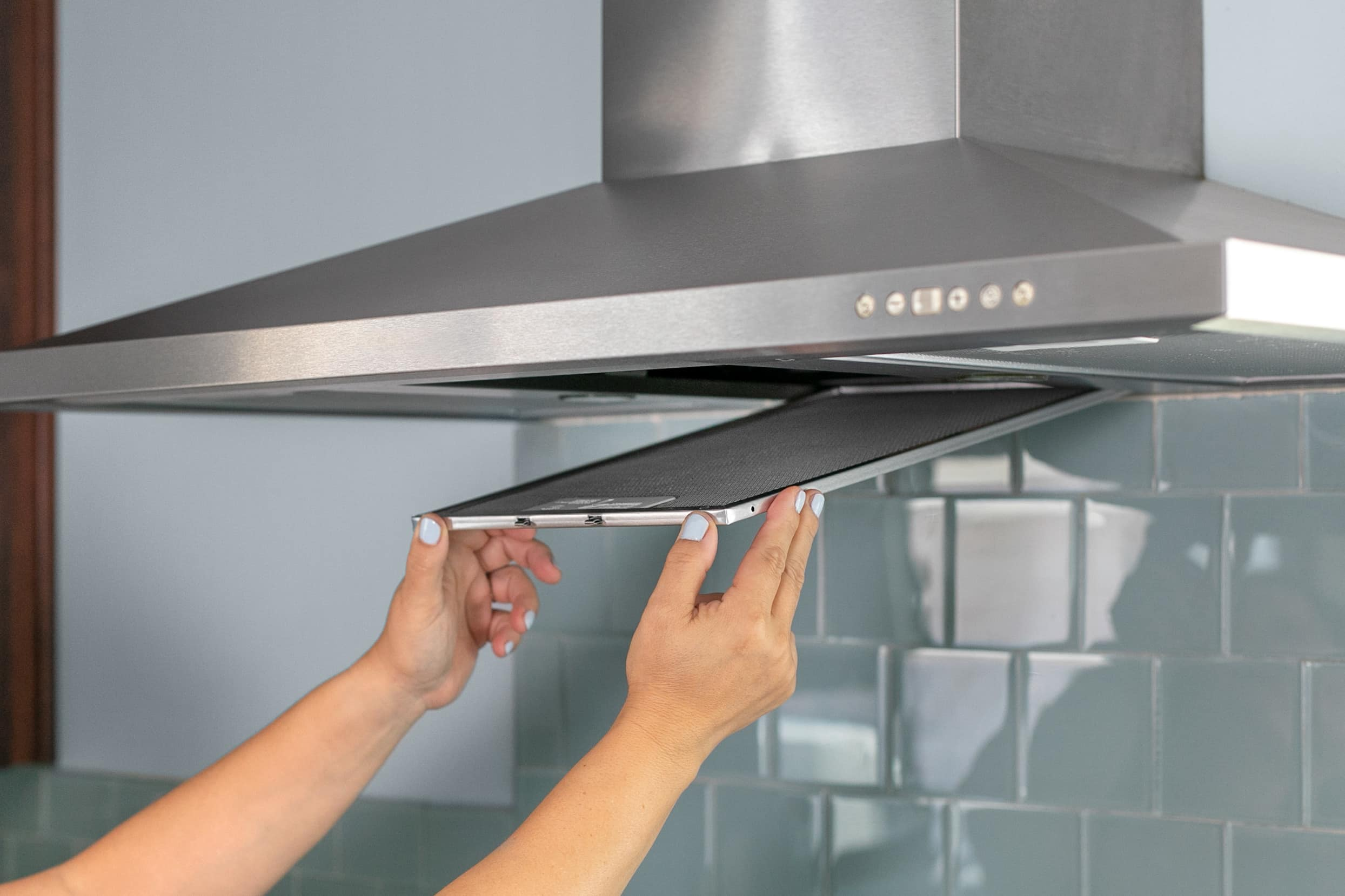 How To Clean A Greasy Range Hood Filter Kitchn