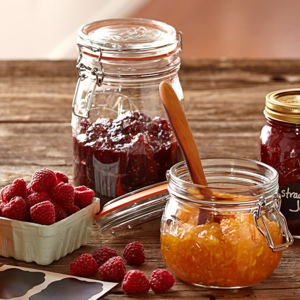 Six Beautiful Jars For Canning Gift Giving Or Simply