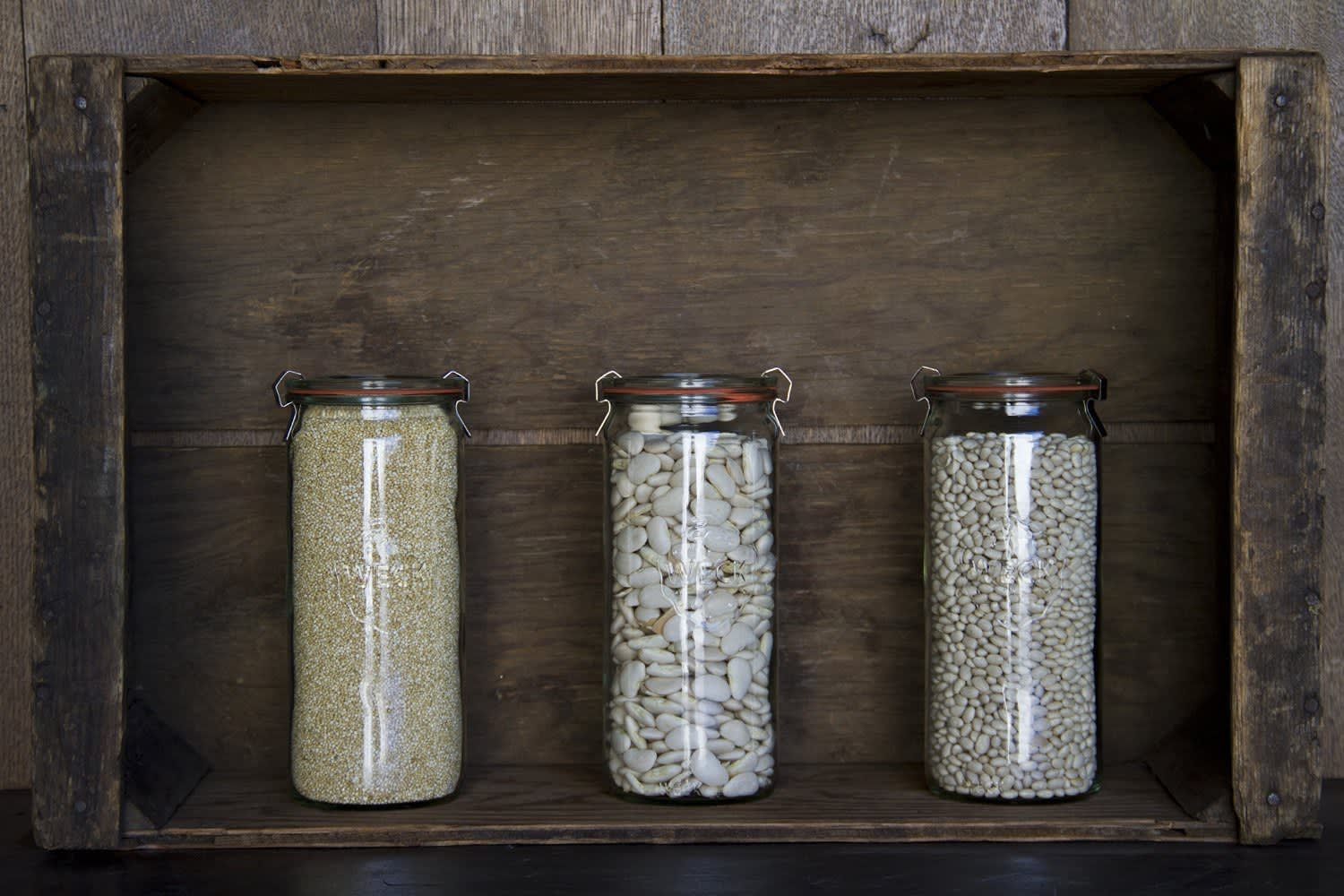 30 Glass Jars For Storing Pantry Essentials Kitchn