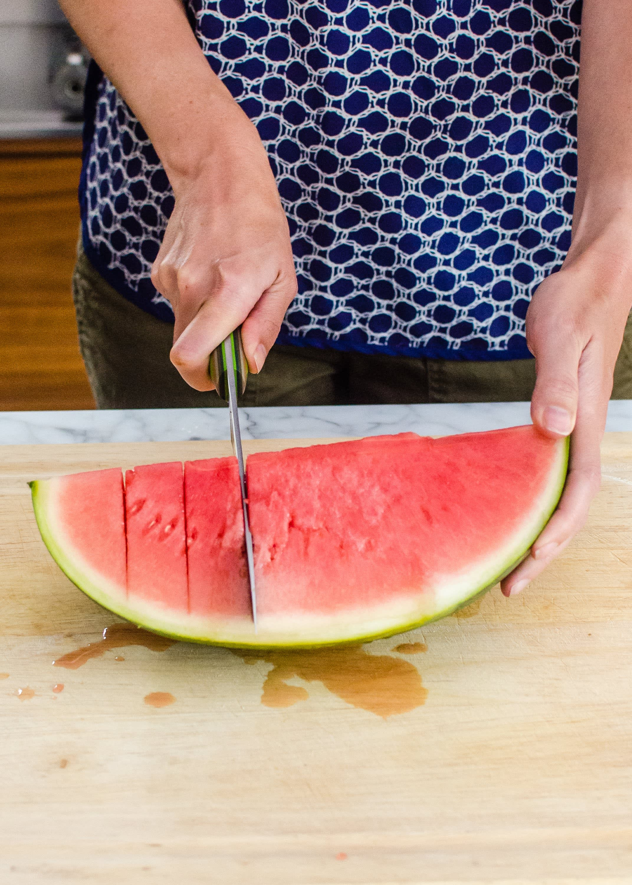 How To Cut Up A Watermelon Step By Step Tutorial Kitchn