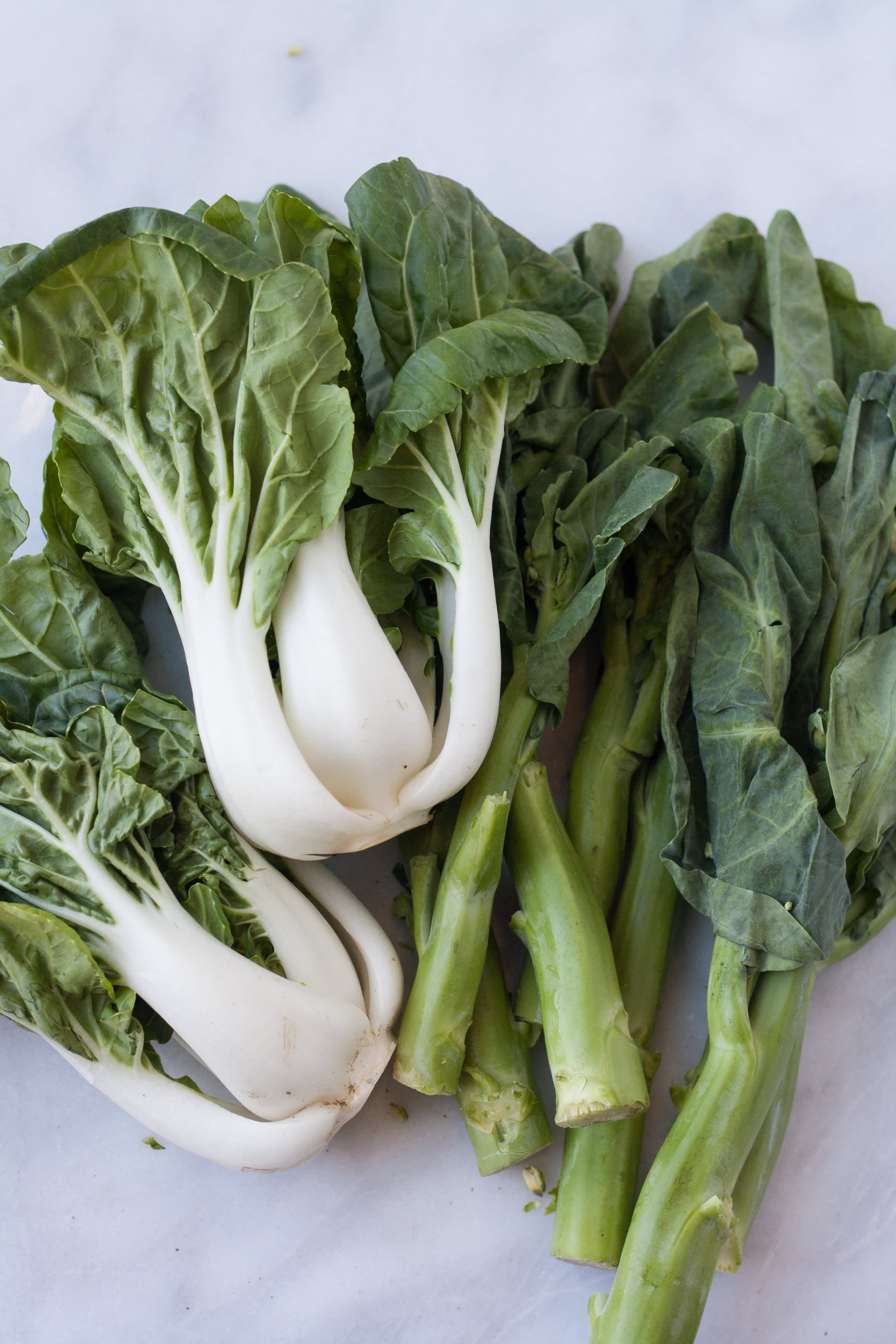 A Visual Guide to 10 Varieties of Asian Greens   Kitchn