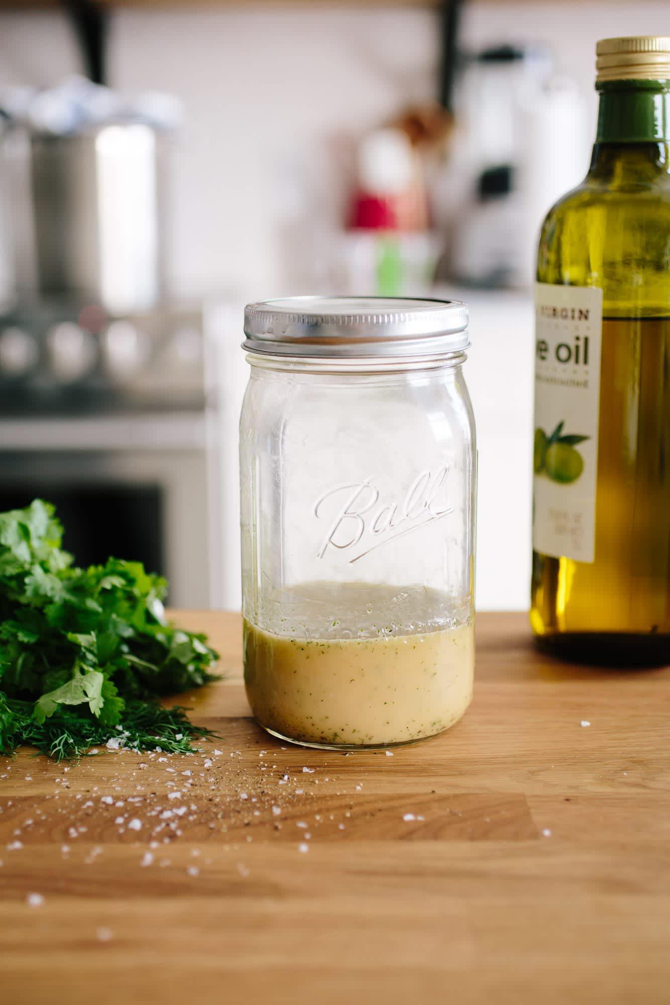 How To Make a Basic Vinaigrette
