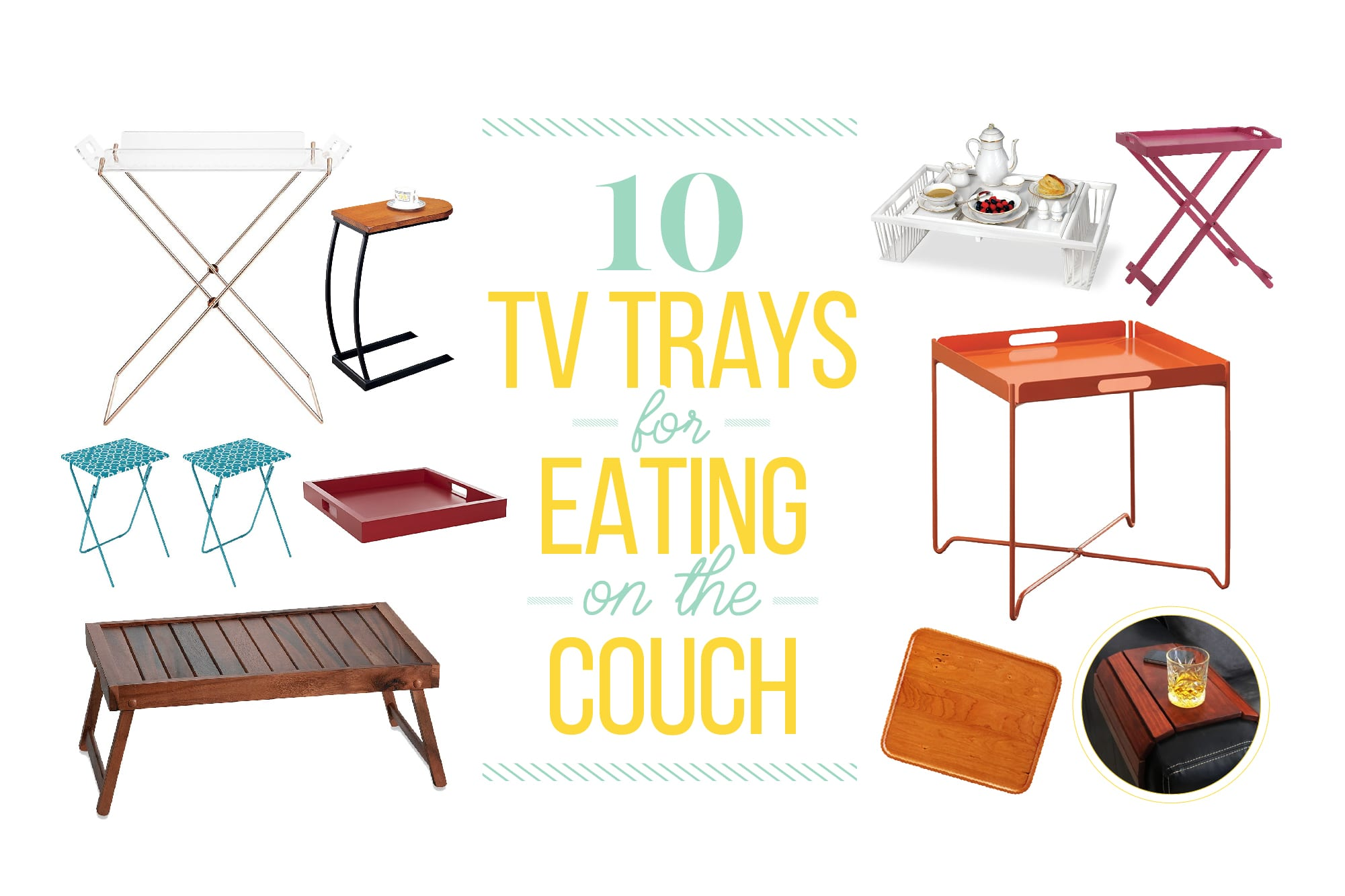 10 Tv Trays For Eating On The Couch Kitchn