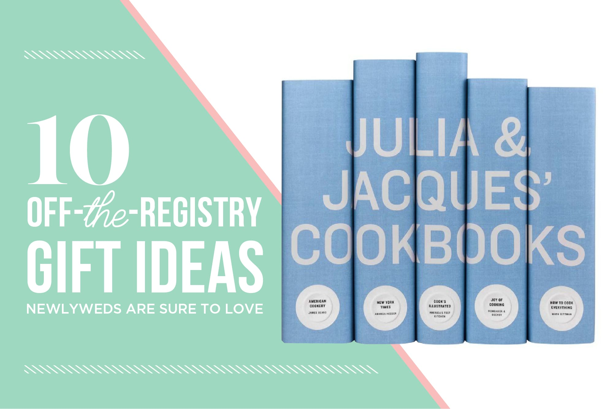 Off Registry Wedding Gifts: 10 Creative Wedding Presents For Food-Lovers