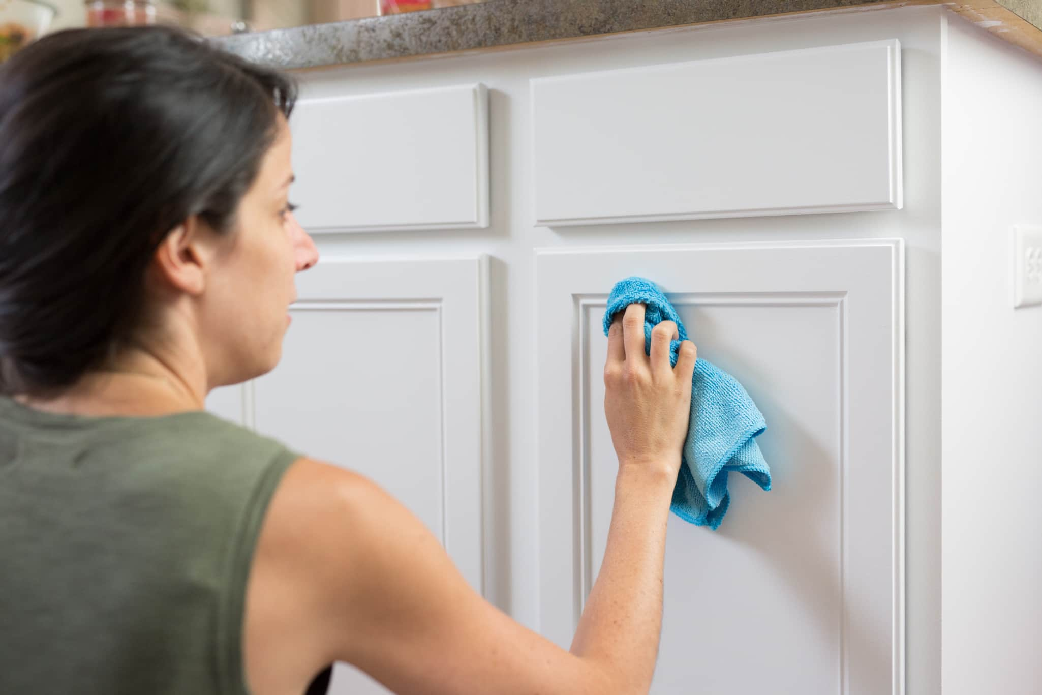 Awesome How To Clean Painted Wood Cabinets Kitchn Home Interior And Landscaping Ologienasavecom
