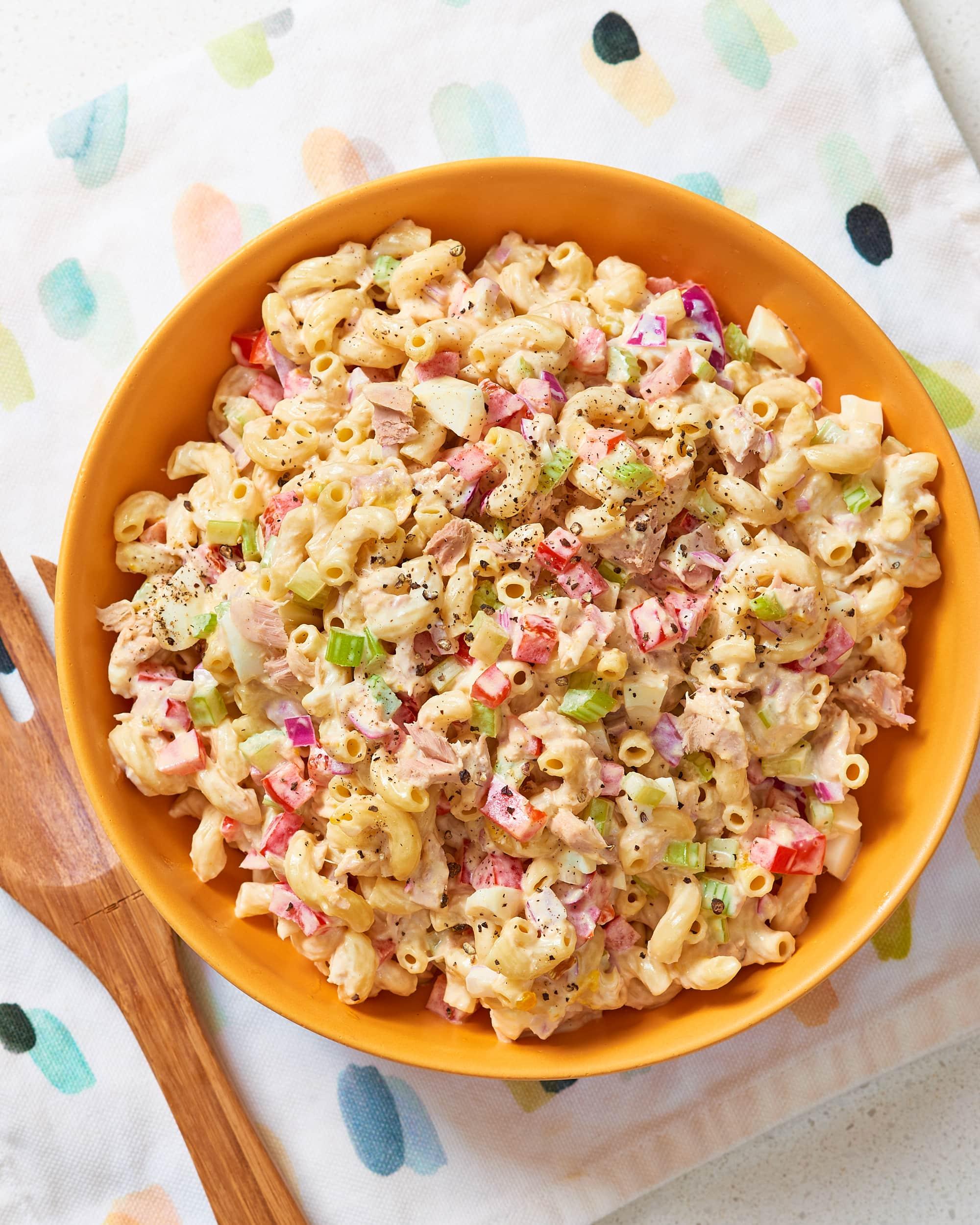 How To Make Better Classic Tuna Macaroni Salad