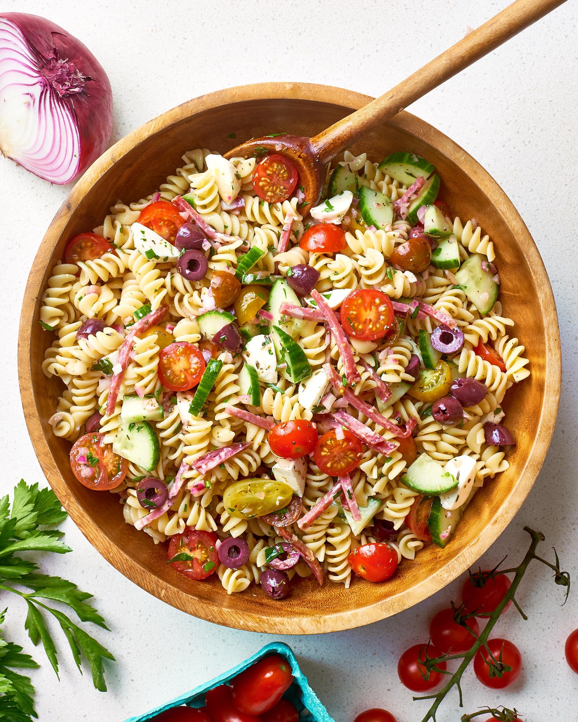 How To Make Easy Italian Pasta Salad