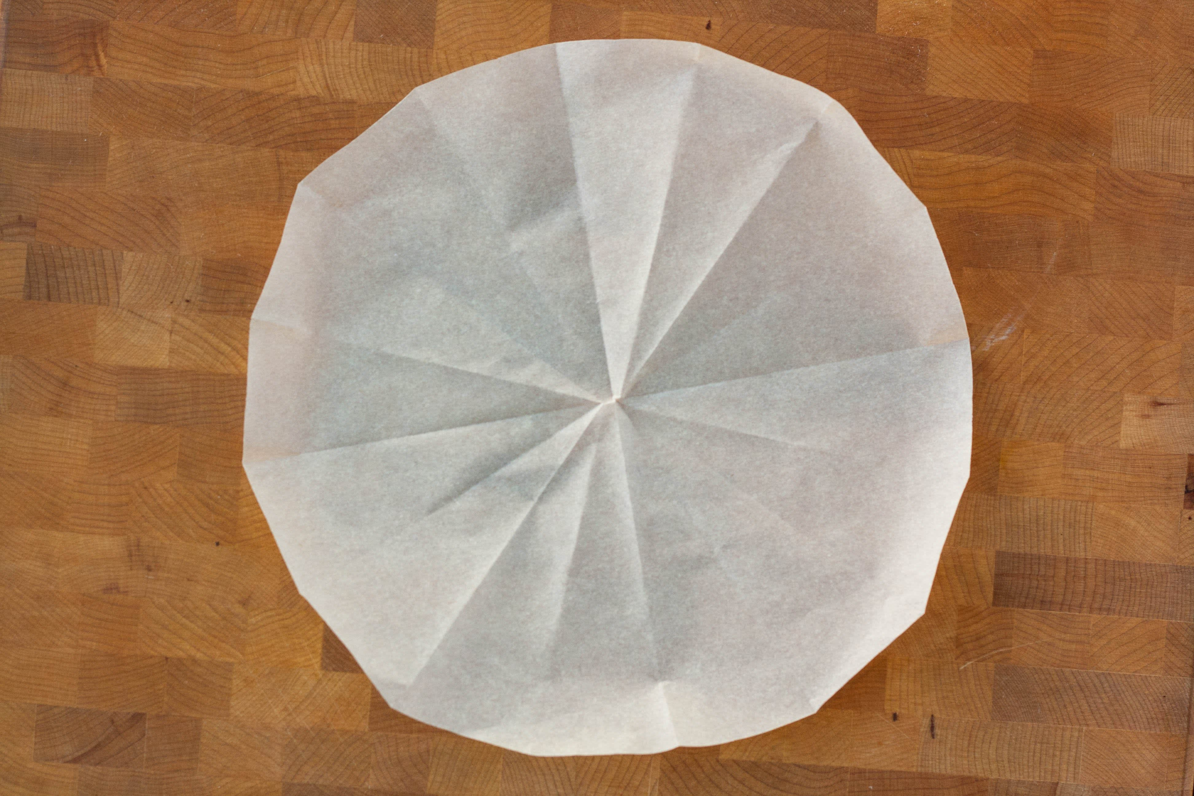 How To Line A Round Cake Pan With Parchment Kitchn