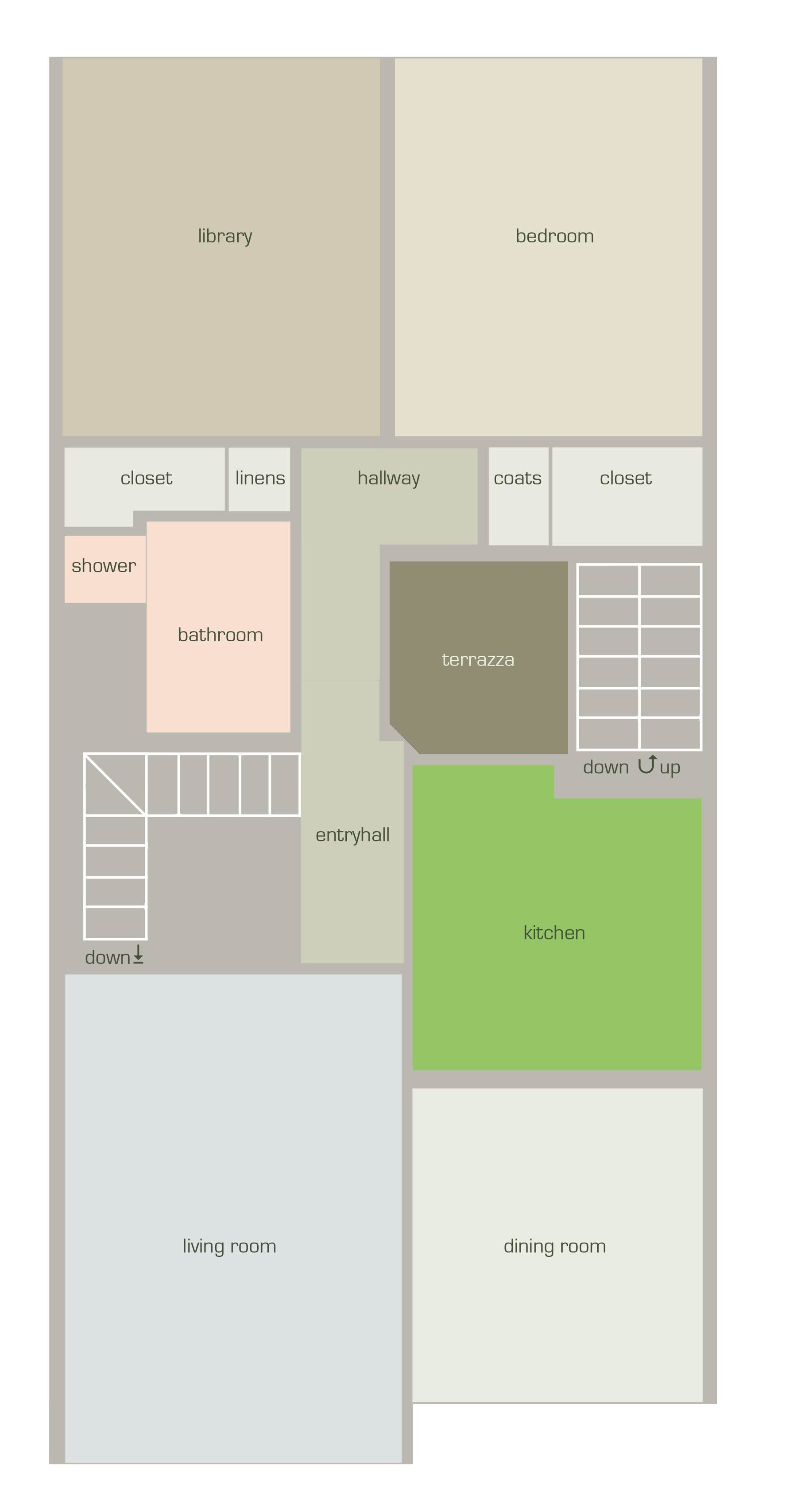 House Tour: Rebecca and Roger's Relaxed Wabi-Sabi Modern: gallery slide thumbnail 3