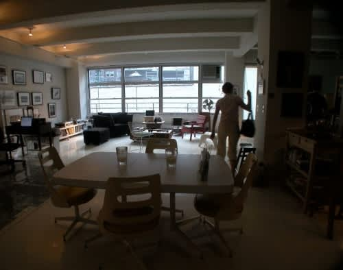 NY House Tour: Justine and David's Home Away from Home: gallery slide thumbnail 2