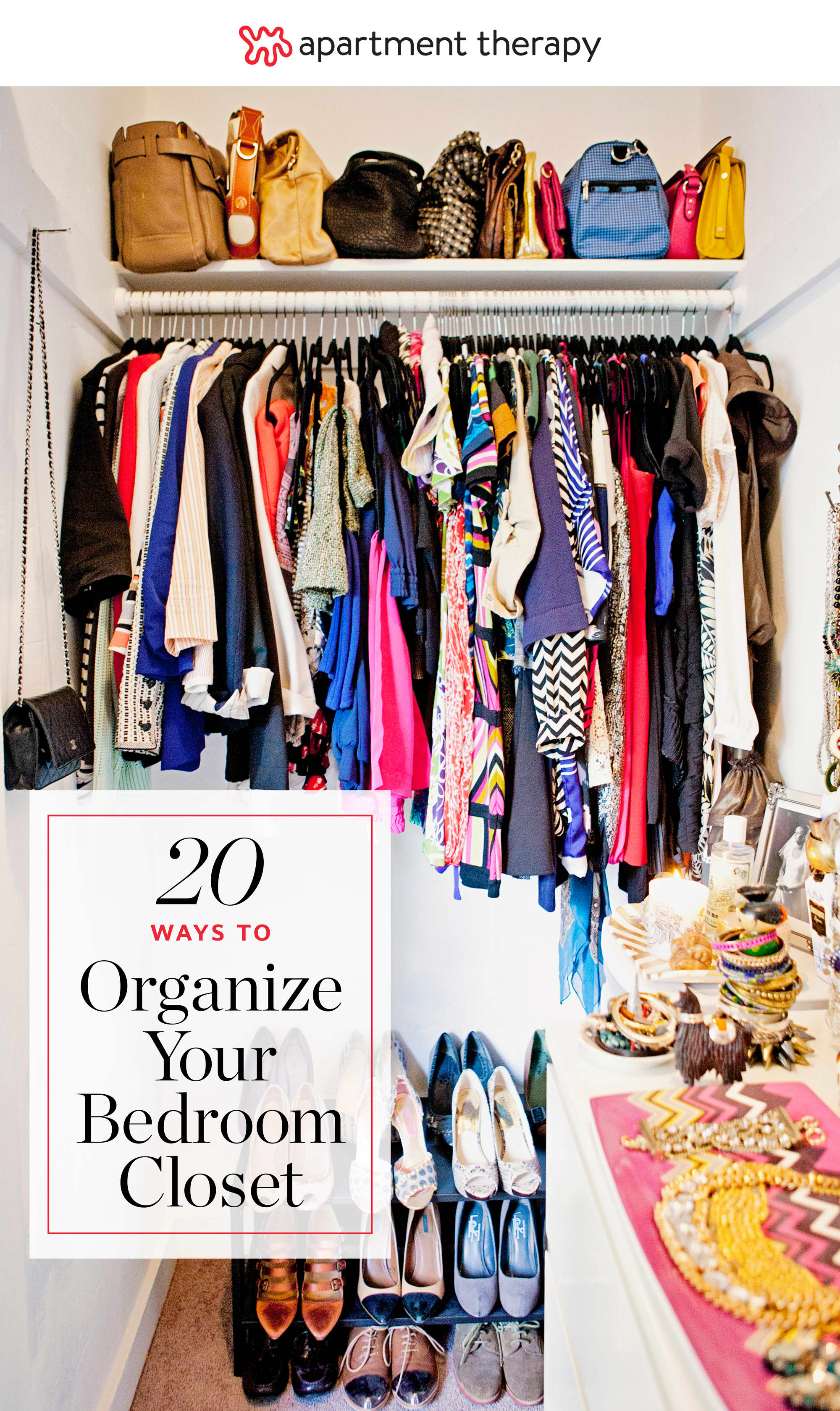20 ideas for organizing your bedroom closet apartment 16578 | 72a82b3599182dfb5db4d1717d214ccbc0a7f45a