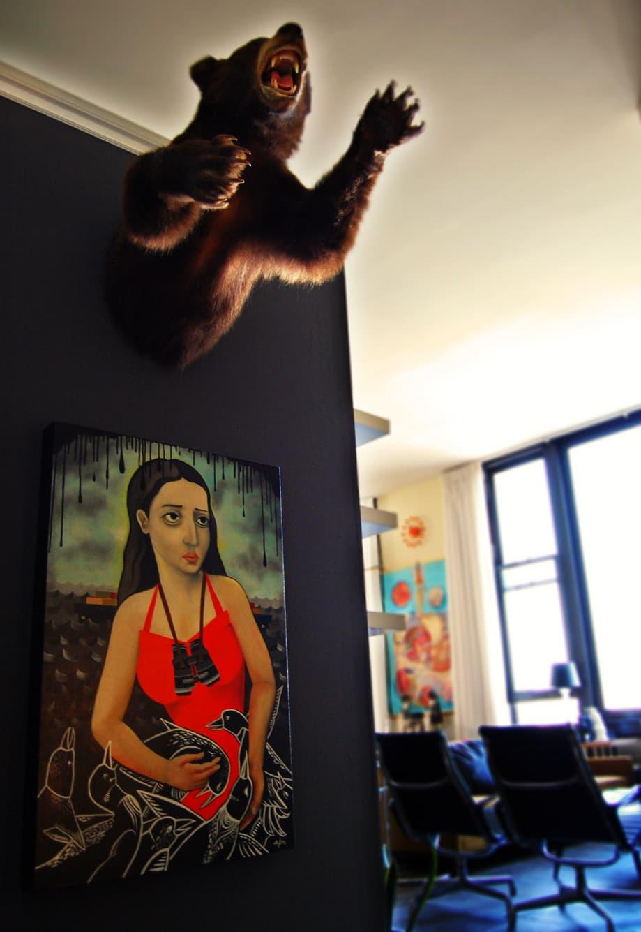 LA House Tour: Anne & Jacob's Curiosity Shop Meets MidCentury Modern: gallery slide thumbnail 10