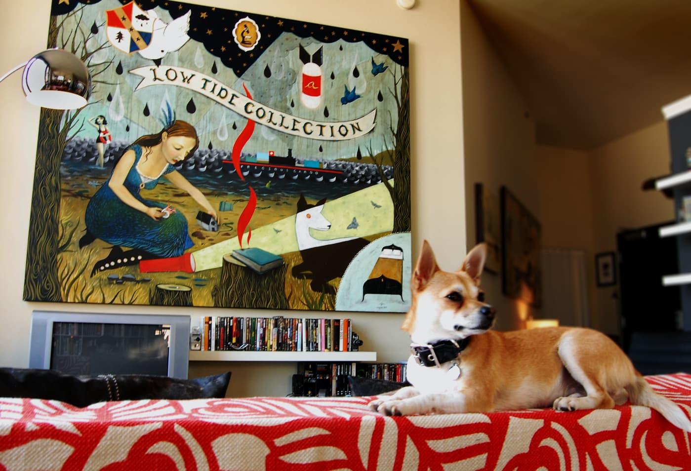 LA House Tour: Anne & Jacob's Curiosity Shop Meets MidCentury Modern: gallery slide thumbnail 2
