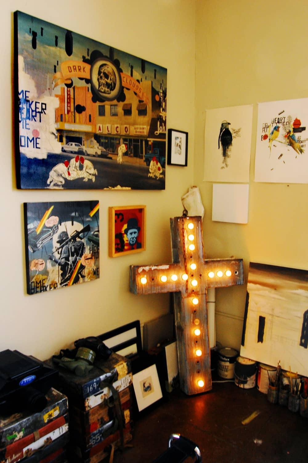 LA House Tour: Anne & Jacob's Curiosity Shop Meets MidCentury Modern: gallery slide thumbnail 16