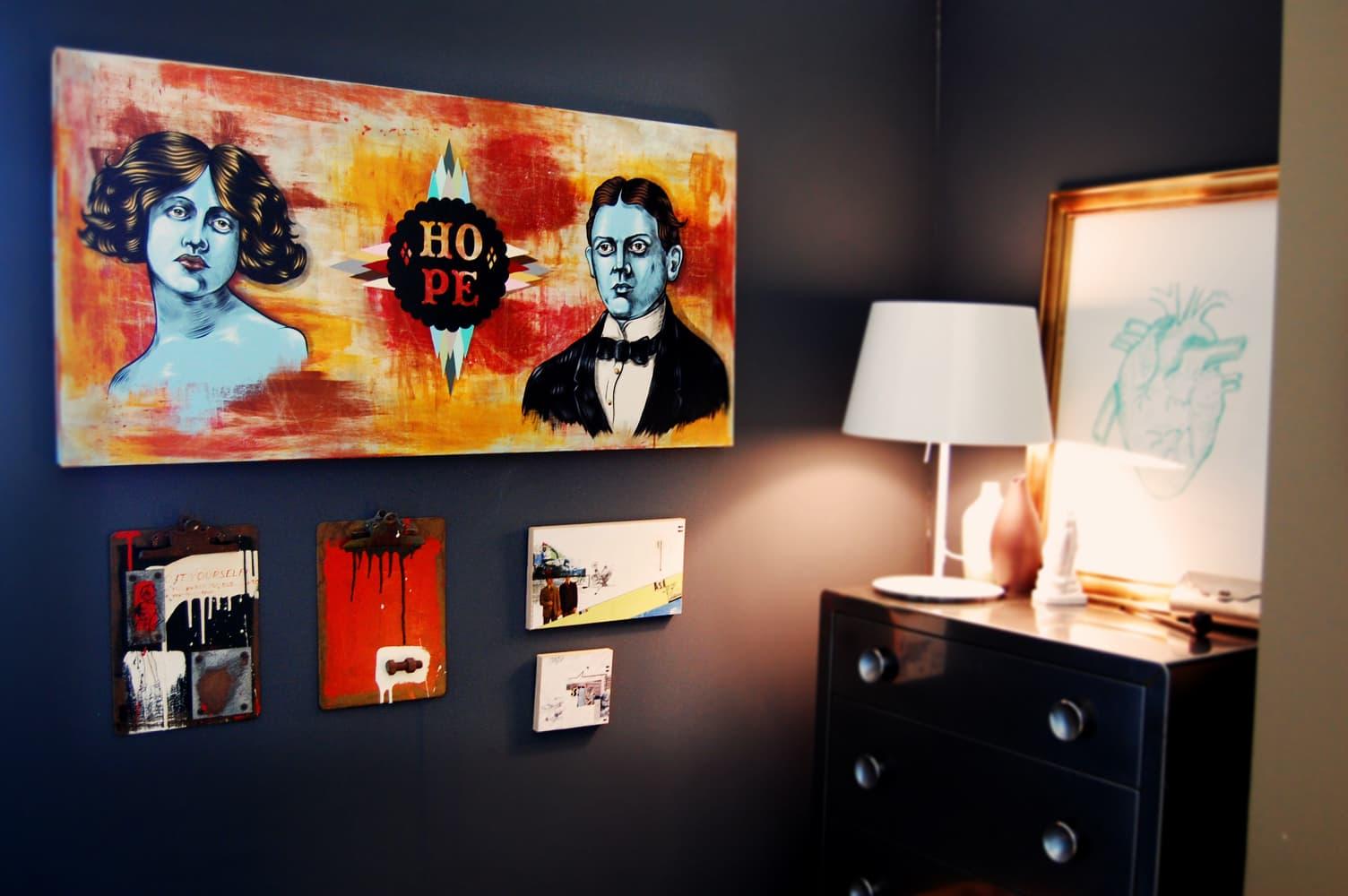 LA House Tour: Anne & Jacob's Curiosity Shop Meets MidCentury Modern: gallery slide thumbnail 8