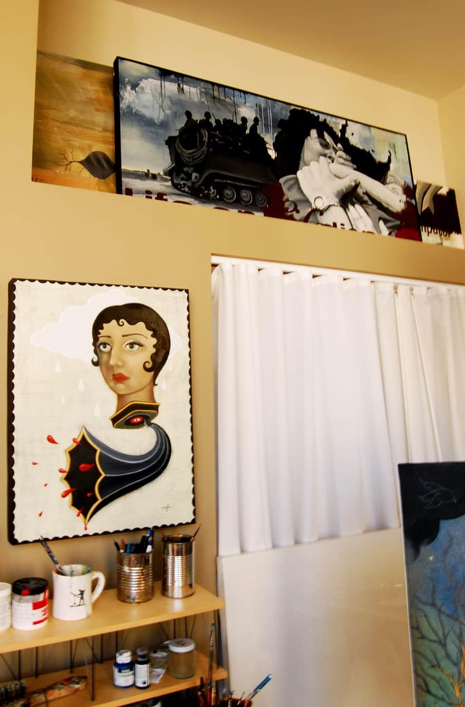 LA House Tour: Anne & Jacob's Curiosity Shop Meets MidCentury Modern: gallery slide thumbnail 22