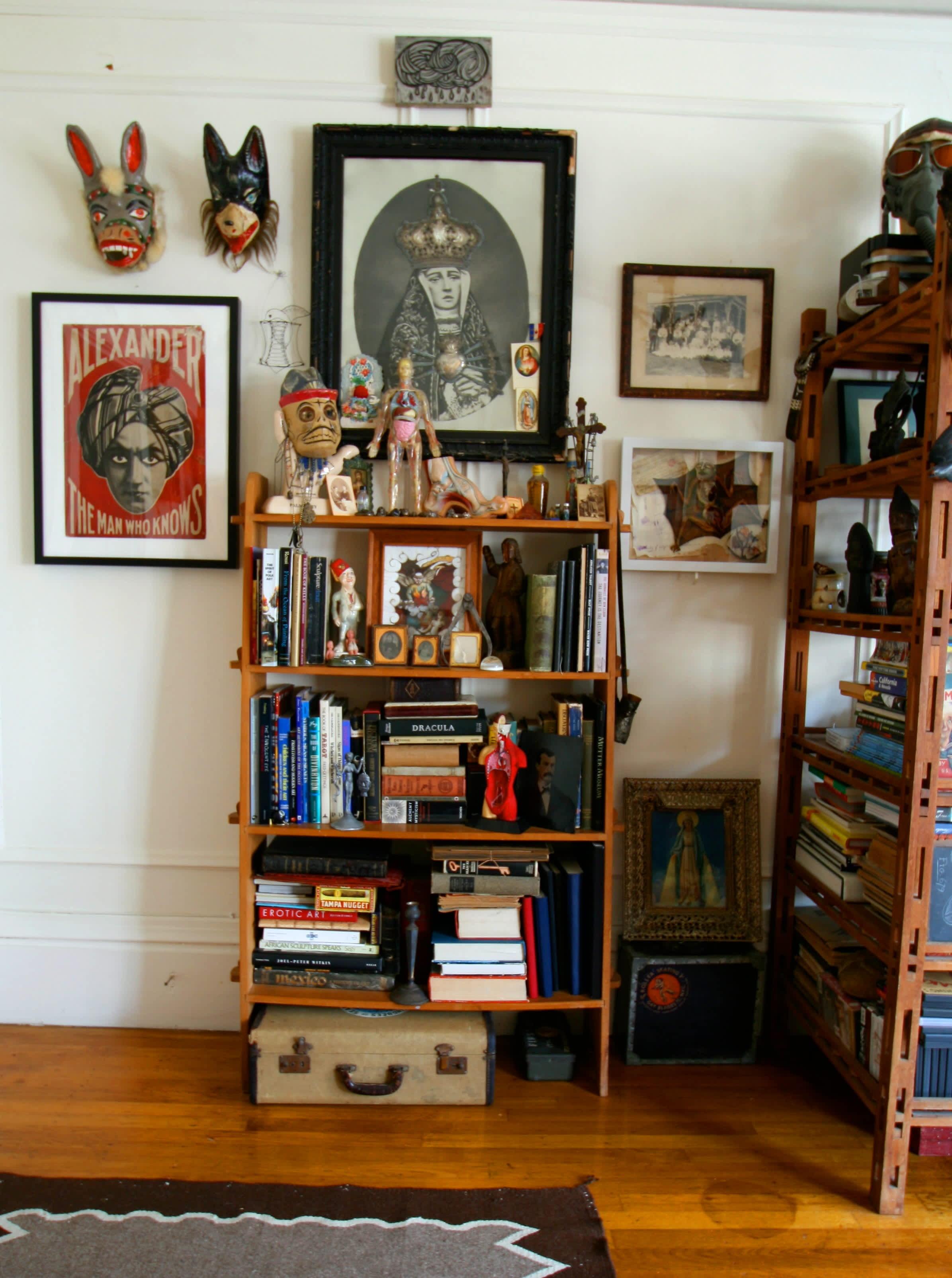 House Tour: Patrick's Curiosity-Filled Studio: gallery slide thumbnail 23