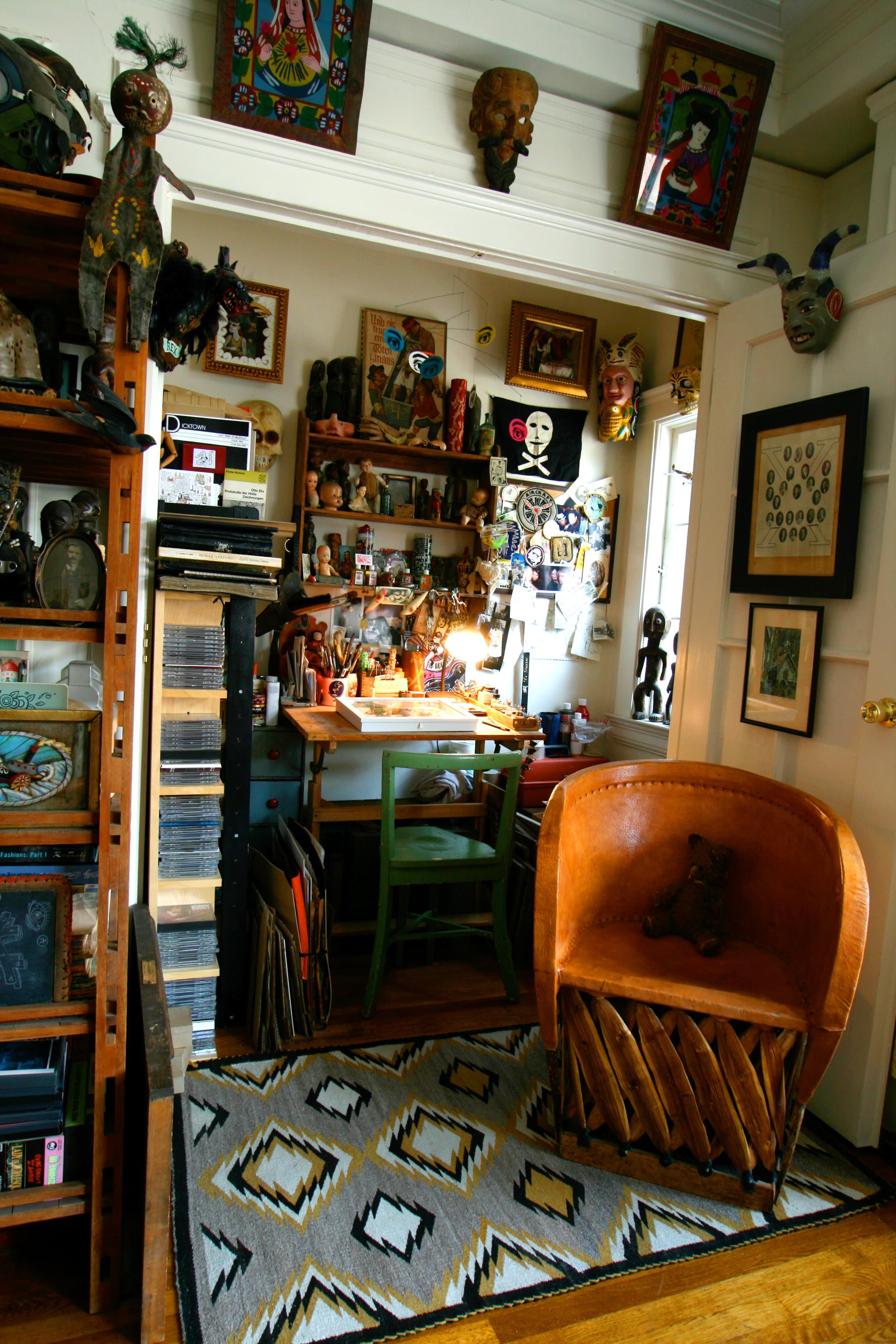House Tour: Patrick's Curiosity-Filled Studio: gallery slide thumbnail 31