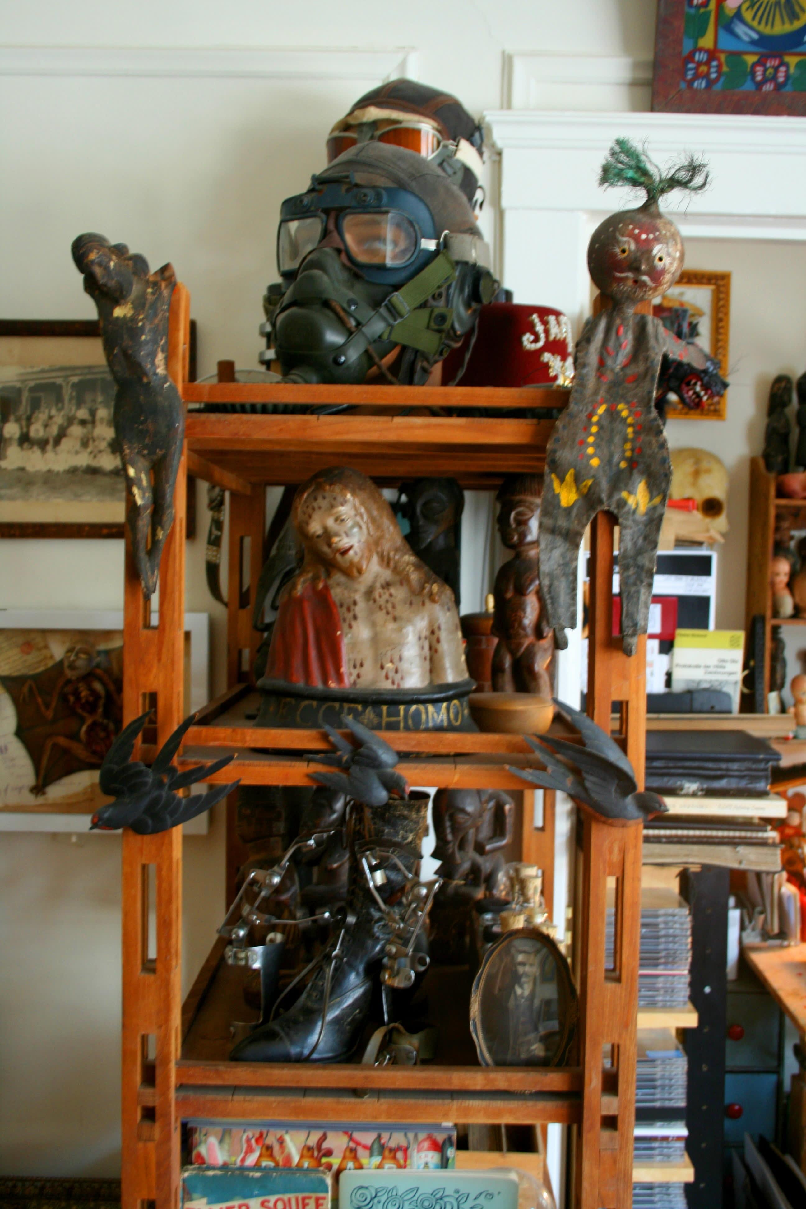 House Tour: Patrick's Curiosity-Filled Studio: gallery slide thumbnail 14