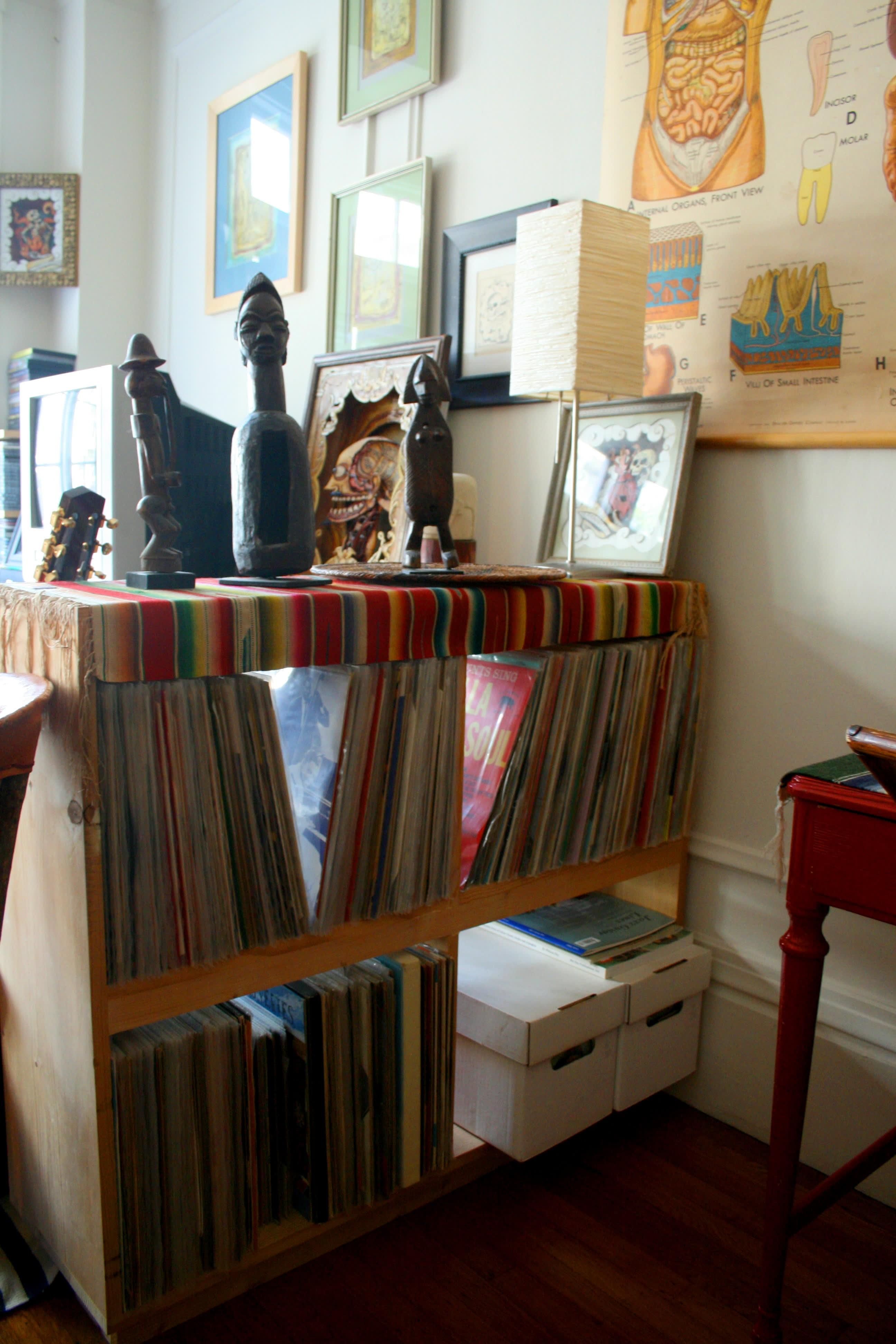 House Tour: Patrick's Curiosity-Filled Studio: gallery slide thumbnail 20