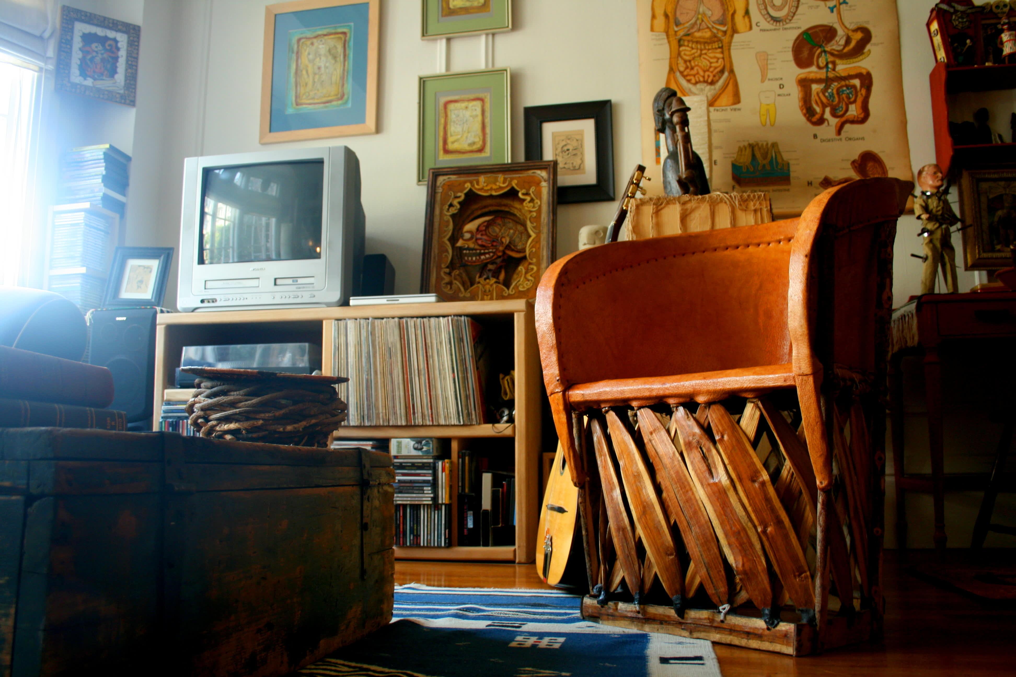 House Tour: Patrick's Curiosity-Filled Studio: gallery slide thumbnail 1