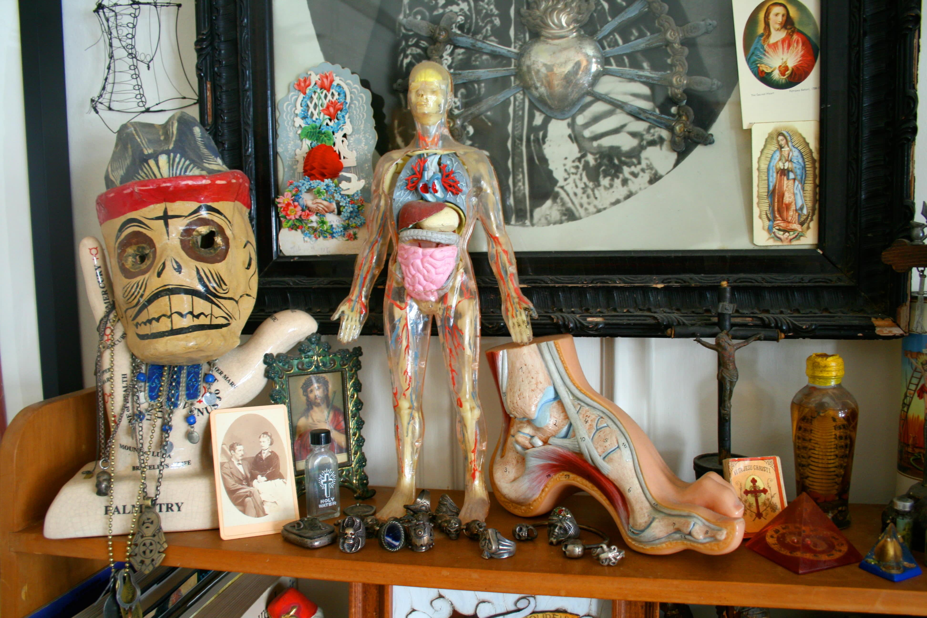 House Tour: Patrick's Curiosity-Filled Studio: gallery slide thumbnail 15