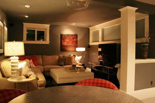 Close-Up: Basement Lounge Makeover: gallery image 1