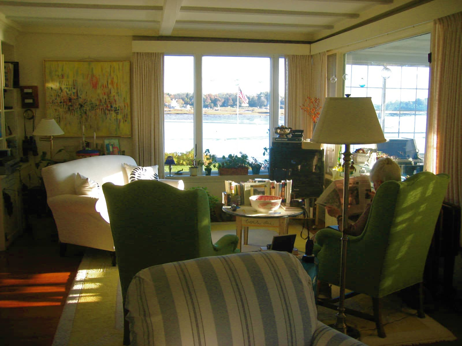 89 Year Old Woman Shares Her Seaside Cottage with AT!: gallery slide thumbnail 17