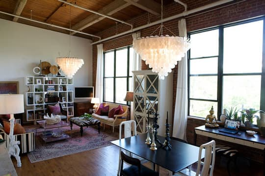 House Tour: Heather's Tobacco Warehouse Dream Loft: gallery slide thumbnail 1