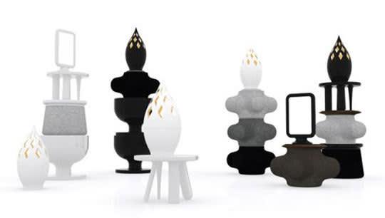 Elements: Modular Furnishings by Jaime Hayon for Moooi: gallery slide thumbnail 3