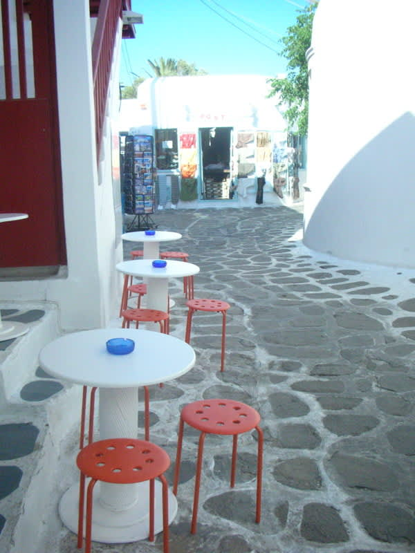 Tables, Chairs, and Shop Windows in Greece: gallery slide thumbnail 8