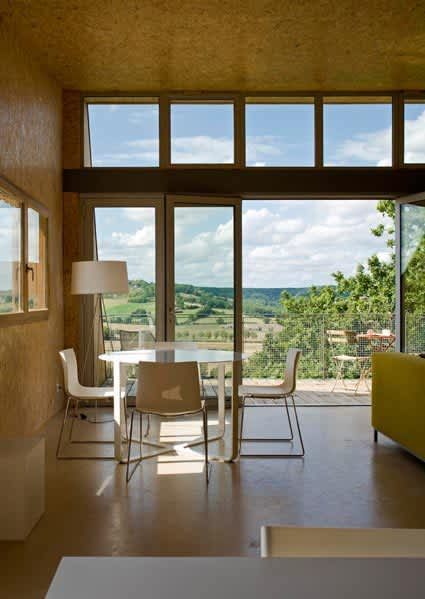 Modern & Green: A Country House in France: gallery slide thumbnail 2