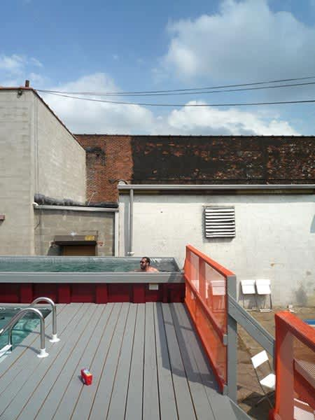 Dumpsters Turned Swimming Pools!: gallery slide thumbnail 1