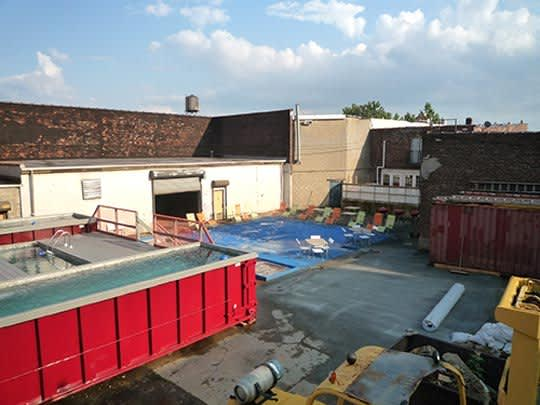 Dumpsters Turned Swimming Pools!: gallery slide thumbnail 2