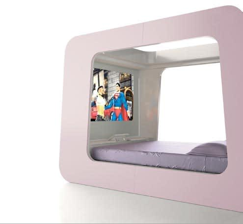Hi-Tech Sleeping: The HiCan Bed: gallery slide thumbnail 4
