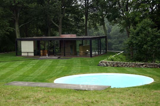 Modern Escape: Round Pool at The Glass House: gallery slide thumbnail 2
