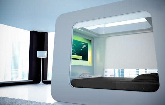Hi-Tech Sleeping: The HiCan Bed: gallery slide thumbnail 3