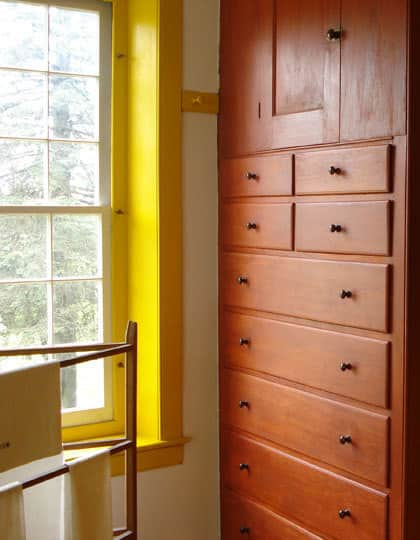 Color Combo: Shaker Yellow with Natural Wood: gallery slide thumbnail 3