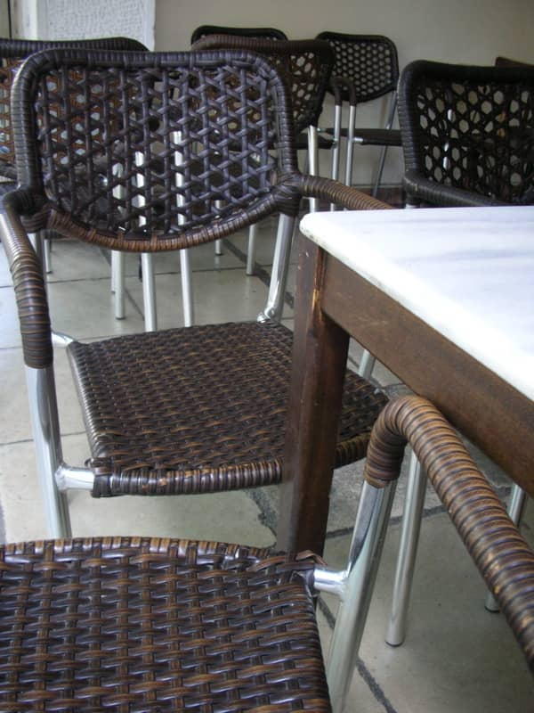 Tables, Chairs, and Shop Windows in Greece: gallery slide thumbnail 2